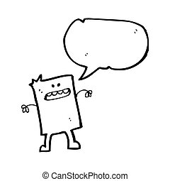 blockhead, caricatura