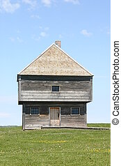 Blockhouse of Fort Edward - Built in June 1750, the...