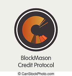 Blockmason Credit Protocol - Cryptographic Currency Symbol...