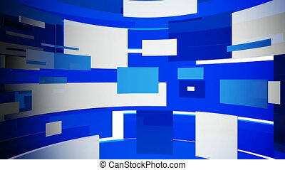 Blocks 2 - Motion background, HD loop