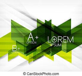 Blocks geometric abstract background