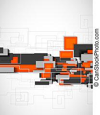 Blocks geometrical modern template - Blocks geometrical...