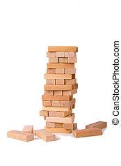 blocks, of, дерево