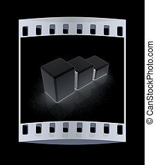 Blocks. The film strip
