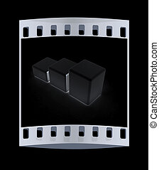 Blocks. The film strip