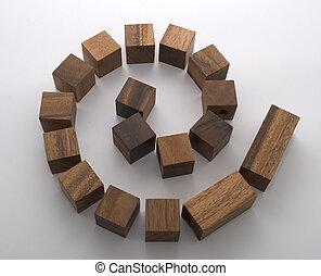 Blocky spiral