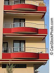 bloco apartamento