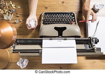 bloco escritor