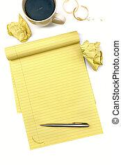 bloco, writer's