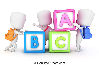 blocs, apprentissage