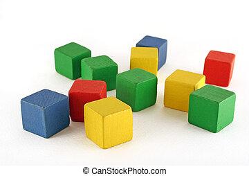 blocs, bâtiment