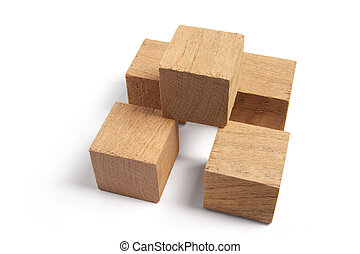 blocs bois, arrangement