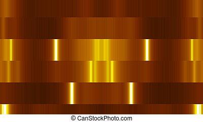 blocs, rendre, résumé, lights., arrière-plan., numérique, 3d