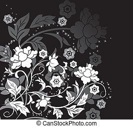 bloem, communie, ontwerp, achtergrond