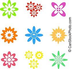 bloem, gedaantes