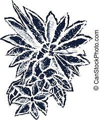 bloem, illustratie