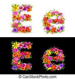 bloem, lettertype