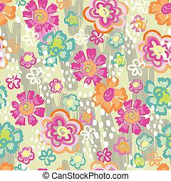 bloem, neon, achtergrond
