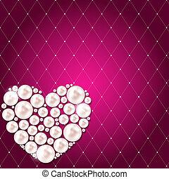 bloem, romantische, ouderwetse , vector, achtergrond, uitnodigingskaart