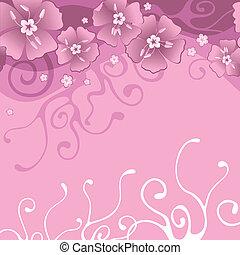 bloemen, achtergrond