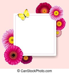 bloemen, kaart