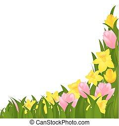 bloemen, lente