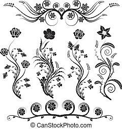 bloemen, versieringen