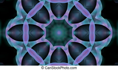 bloempatroon, seamless, kaleidoscop