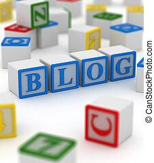 blog, 块, 作品