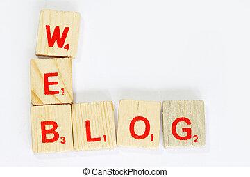 blog, 網