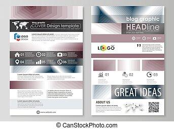 blog, 문자로 쓰는, 사업, templates., 페이지, 웹사이트, 디자인, 본뜨는 공구, 쉬운, editable, 벡터, layout., 단일의, 단색화, 기하학이다, pattern., 떼어내다, polygonal, 스타일, 유행, 현대, 배경.