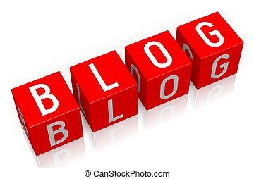 Blog - 3D cube word
