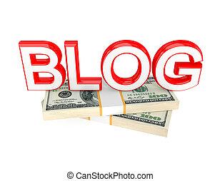 blog, argent, mot, packs.