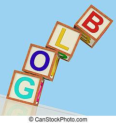 Blog Blocks Show Blogger Internet And Niche - Blog Blocks ...