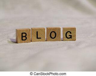 blog, blocs