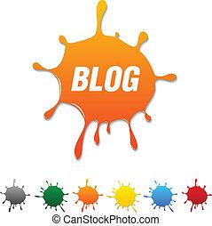 Blog blot.