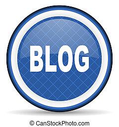blog blue icon