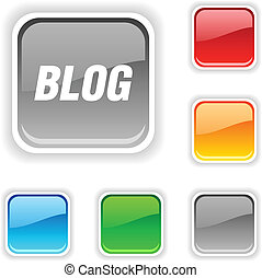 Blog button.