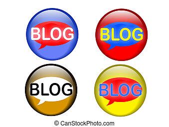 Blog Buttons