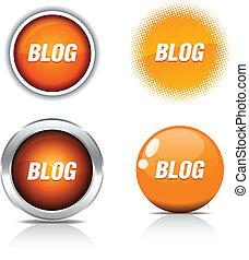 Blog buttons.