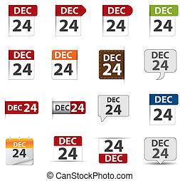 blog, calendario, icona