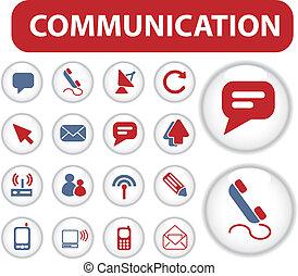 blog, comunicazione, bottoni