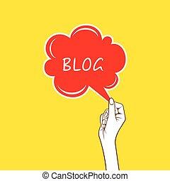 blog concept design