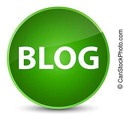 Blog elegant green round button