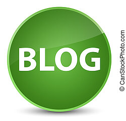 Blog elegant soft green round button
