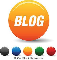 Blog icons.