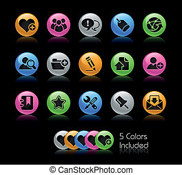 Blog & Internet / Gelcolor - The EPS file includes 5 color...