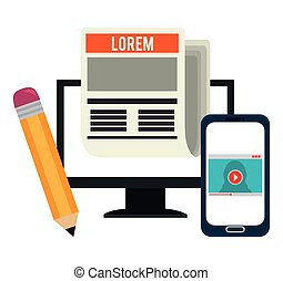 blog, media, blogger, sociale