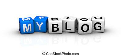 blog, mon