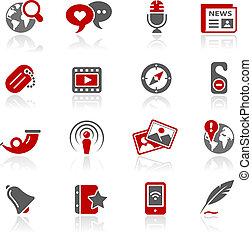 blog, &, nouveaux médias, /, redico